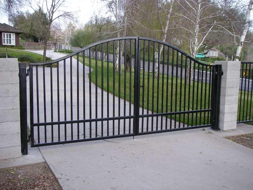 ворота решетчатые