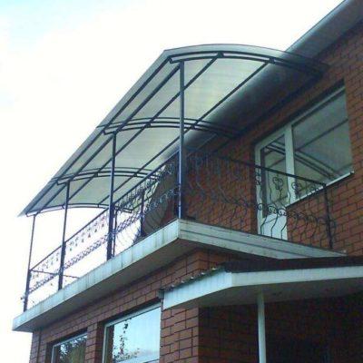 навес на балкон