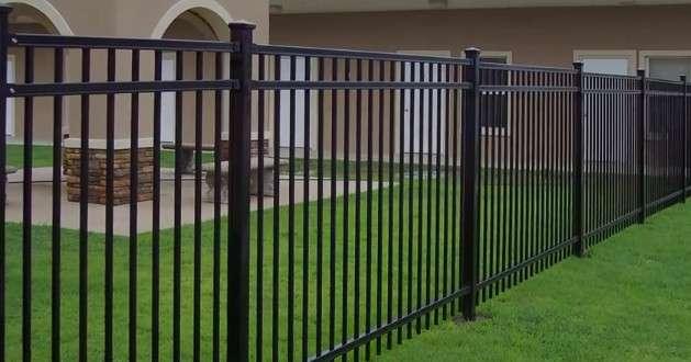 забор решетчатый