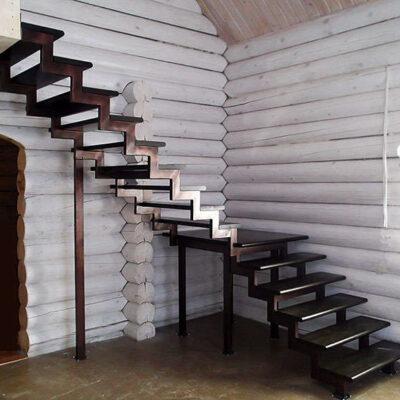 Лестница фигурная